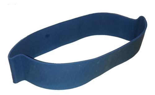 tiraband banda elástica circular azul tension alta