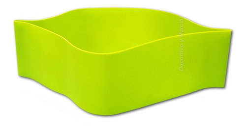 tiraband circular 60 x 7,6 cm - intensidad media verde fit