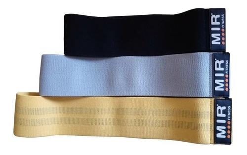 tiraband circular banda elástica tela mir pack 3 tensiones