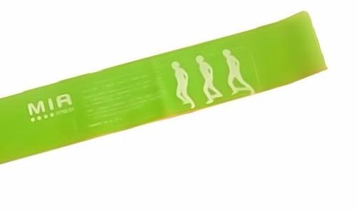 tiraband circular de intensidad liviana verde mir