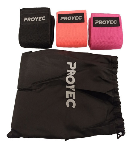 tiraband circular tela proyec 3 tensiones con bolso incluido