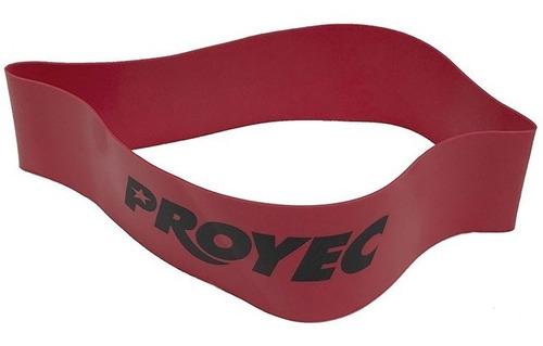 tiraband redonda proyec intensidad media banda rojo circular