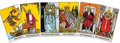 tirada astrologica de tarot: lectura anual