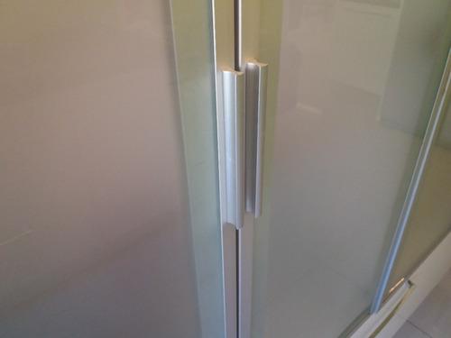 tirador de aluminio color mate 15 cm. nuevo 1