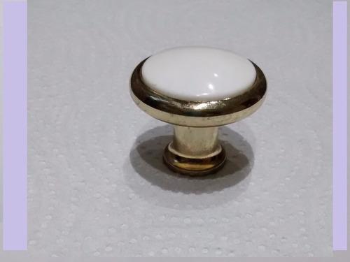 tirador de plástico dorado para cajones alacenas y muebles