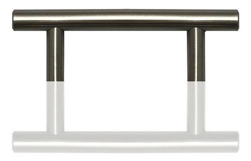 tirador metal mueble herraje manija 65mm deco baño 88060