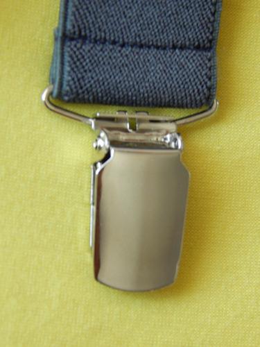 tirador pantalón suspenders pinza madison gris oscuro 3cm