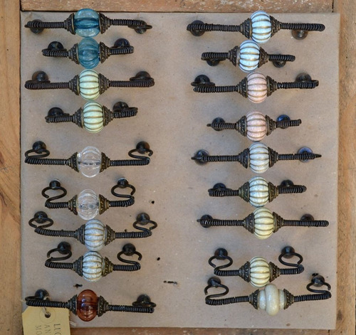 tirador perilla p/mueble cerámica c/figura lechuza buho