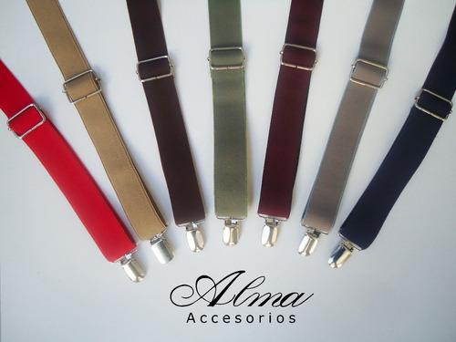 tiradores de largo regulable unisex - variedad de colores!