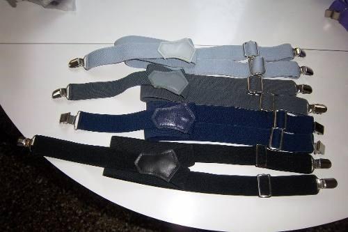 tiradores de niño/a con pinzas de metal regulables