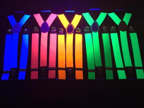 tiradores fluor tirador fluo brilla con luz uv cotillon