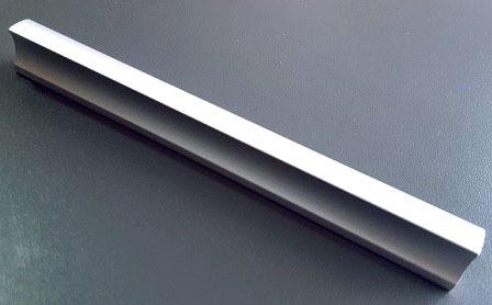 tiradores manija mueble aluminio 128mm x 10 uni cajon benja