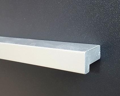 tiradores manija mueble cajon armario 192mm enigma aluminio