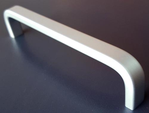 tiradores manijas cajon mueble aluminio 192mm x 10 un 007