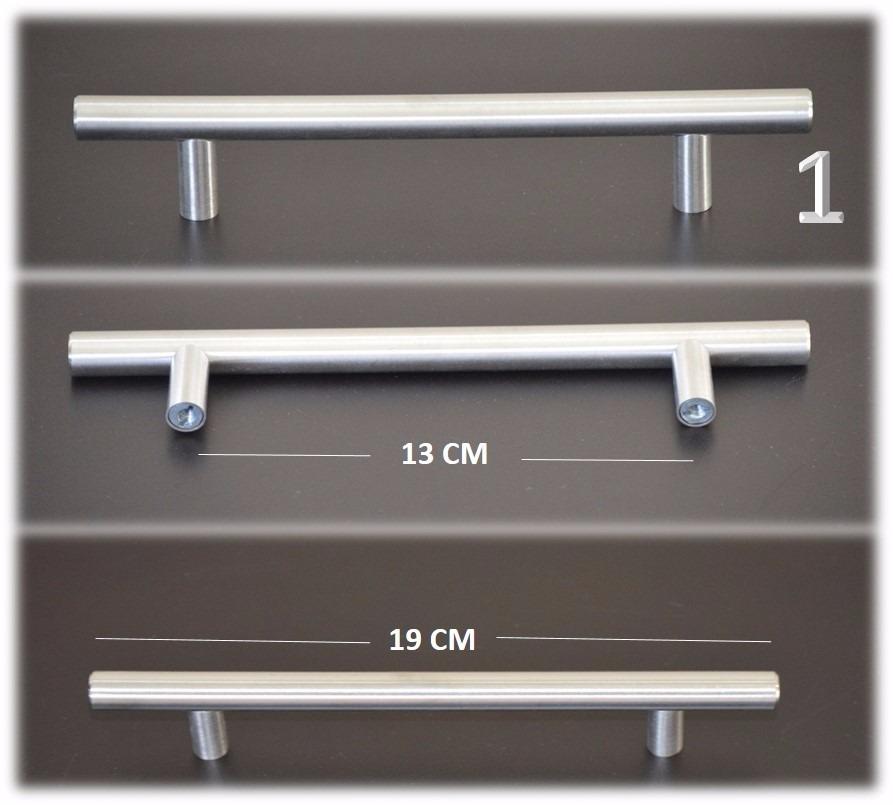 Tiradores manillas de acero para cocinas gabinetes muebles - Tiradores para muebles de bano ...