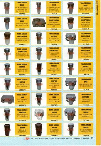 tiraje armado emege - calefactor - art.13107/0