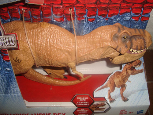 tiranosaurio rex dinosaurio jurassic park world remate