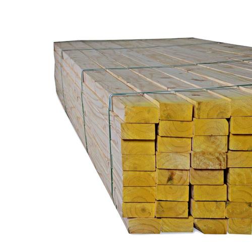 tirante de madera pino cepillado 2 x 5 x 4,88 mts. techos