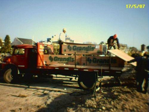 tirante de madera pino cepillado 2  x 5  x 4,88 mts techos