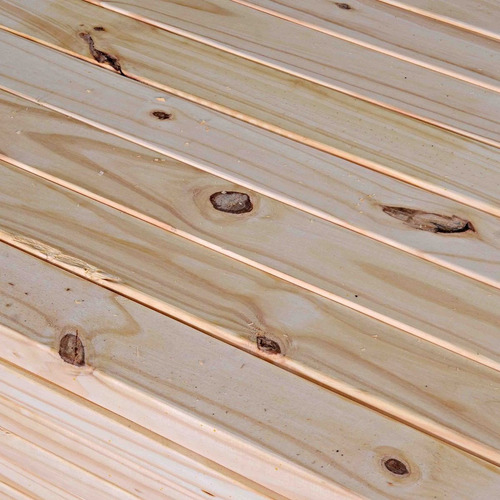 tirante de madera pino cepillado 2 x 6 x 4,27 mts. techos