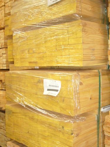 tirante de madera pino cepillado 2  x 6  x 4,88 mts techos