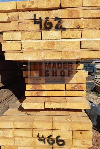 tirante de madera pino cepillado 2 x 6   x 6,00 mts - mader shop