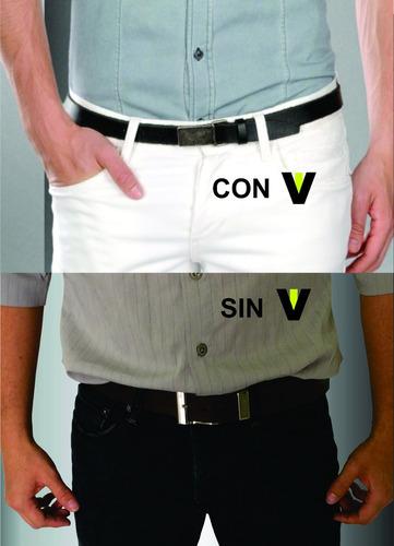 tirantes de camisas, par de sujetadores ivis. unitalla