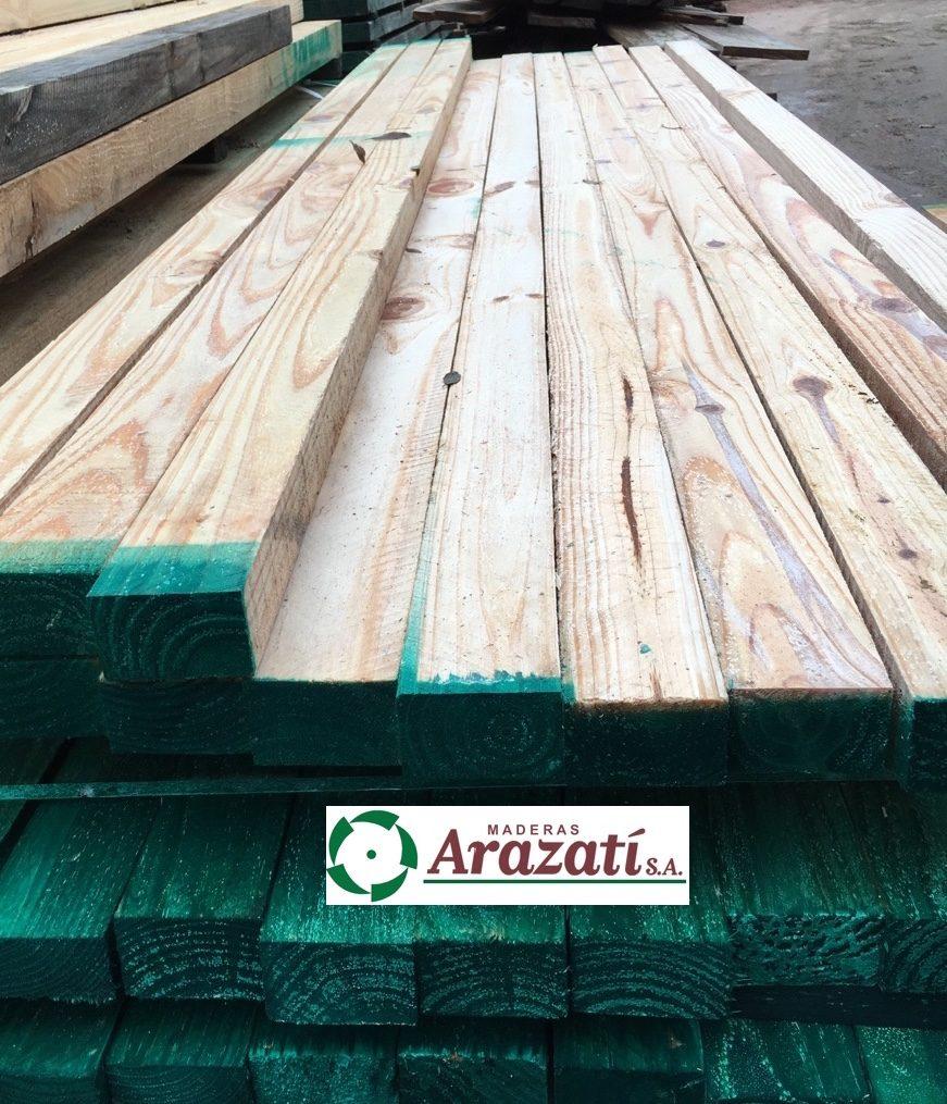 Tirantes de madera tirante pino vigas cabios arazati - Maderas de pino precios ...