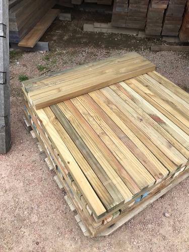 tirantes de pino cca 2 x1 x1,10 mts 10 unidades.
