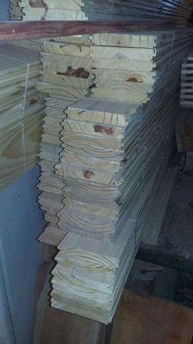 tirantes - machimbres - chapas cincalum- fenolico y saligna