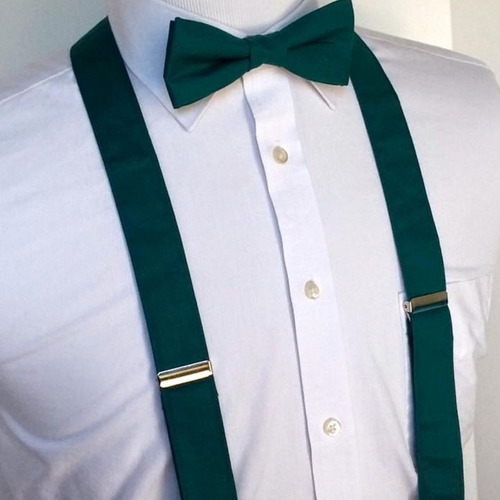 tirantes para hombre grin accs color verde