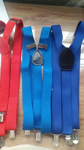tirantes  (suspenders)forma de y hombre, mujer, niño unisex