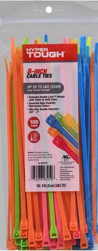 tirap o tirrajes colores neon surtidos bolsa de 100 8