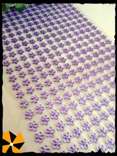 tiras autoad falso strass perlas 50 tiras 1000 pu decoración