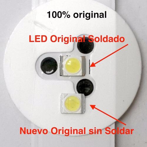tiras cintas led tv reparacion repuesto lg samsung siragon