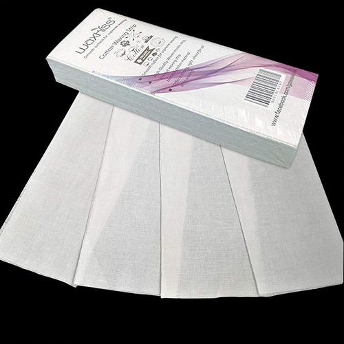 tiras de muselina de algodón de cera para la depilación 10