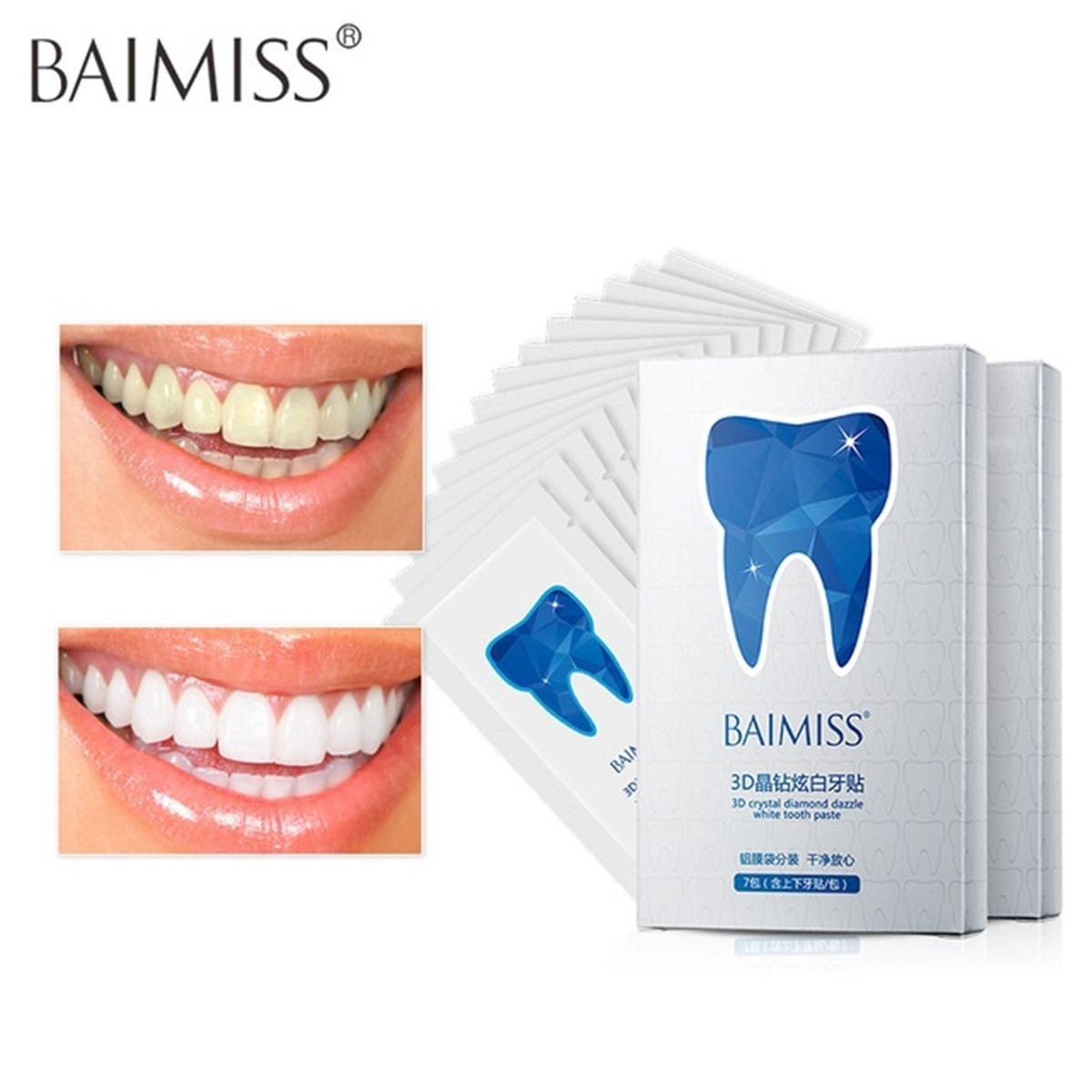 Tiras Gel Clareamento Dental Profissional Remocao Manchas R 59
