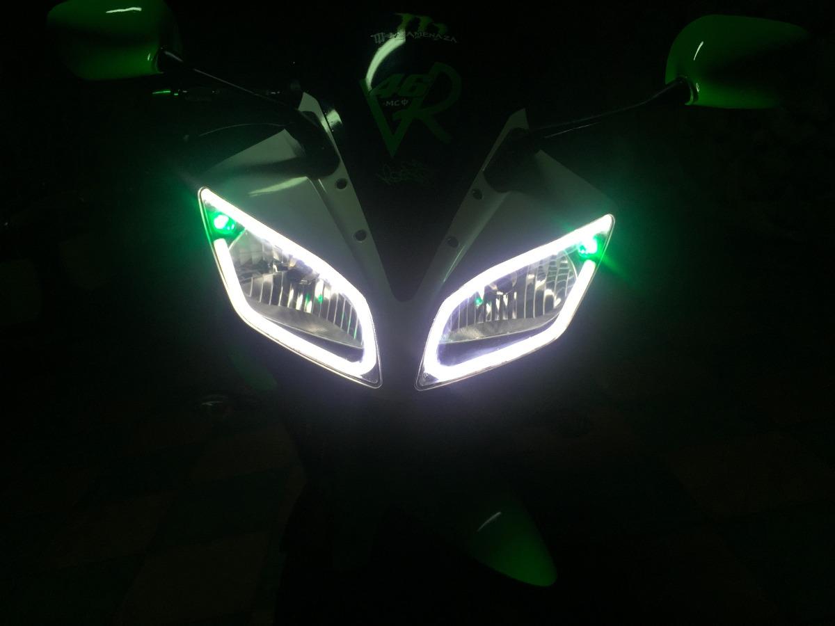 Tiras led en faros motocicleta kit con 2 tiras rodilleras - Tiras de led precios ...