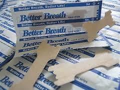 tiras nasales better breath antirronquidos x 100 unidades