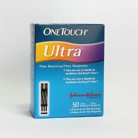 Tiras Reactivas One Touch Ultra 50 Unidades