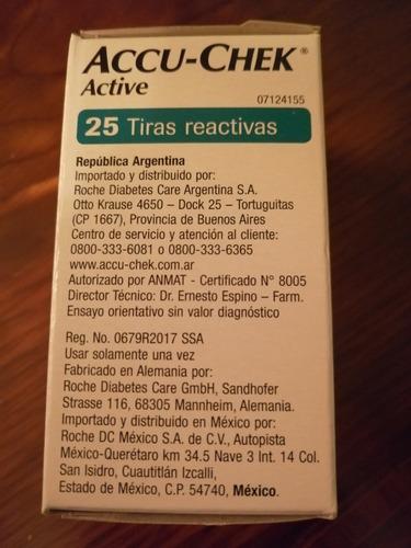 tirillas reactivas accu-chek active