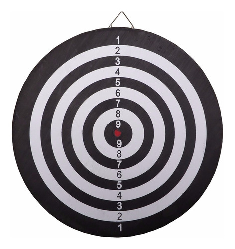 tiro al blanco reversible 42 cm juego de dardos 6 de regalo!