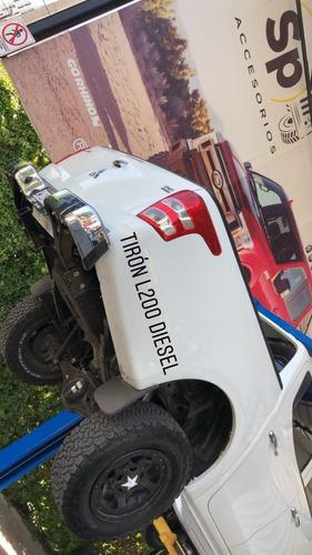 tiron arrastre jalon mitsubishi l200 2016/18 diesel sölden
