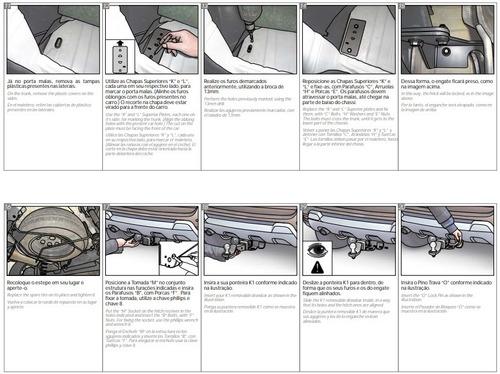 tiron jalon hitch remolque keko renault duster 2011-2019