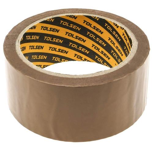 tirro cinta de embalaje marrón 100mts x 4.8cm tolsen