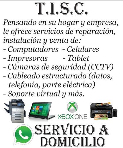 tisc.sa servicio tecnico venta,reparacion,mantenimiento