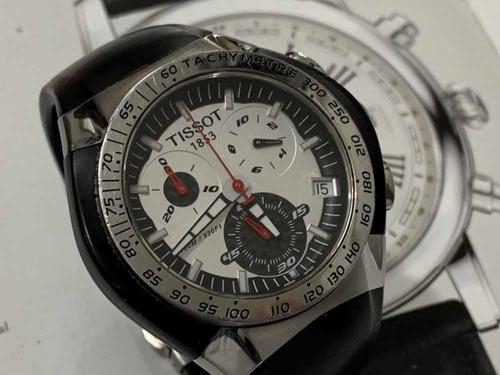 tissot 1853 t-tracx chronograph t010411a quartz sapphire