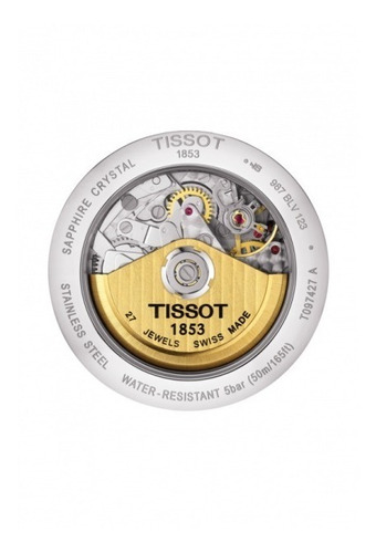 tissot bridgeport cronografo reloj hombre t097.427.11.033.00