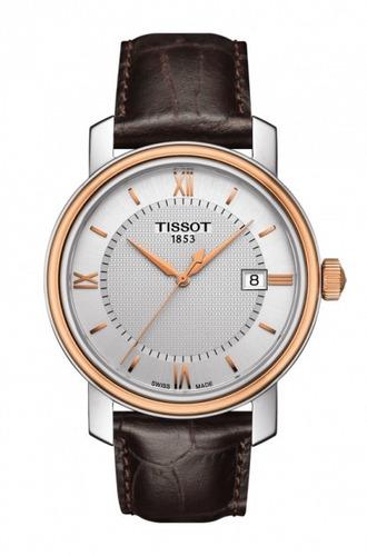 tissot bridgeport zafiro reloj hombre t097.410.26.038.00