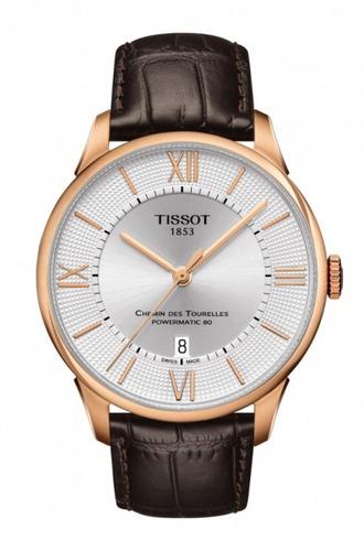 tissot chemin des tourelles reloj hombre t099.407.36.038.00